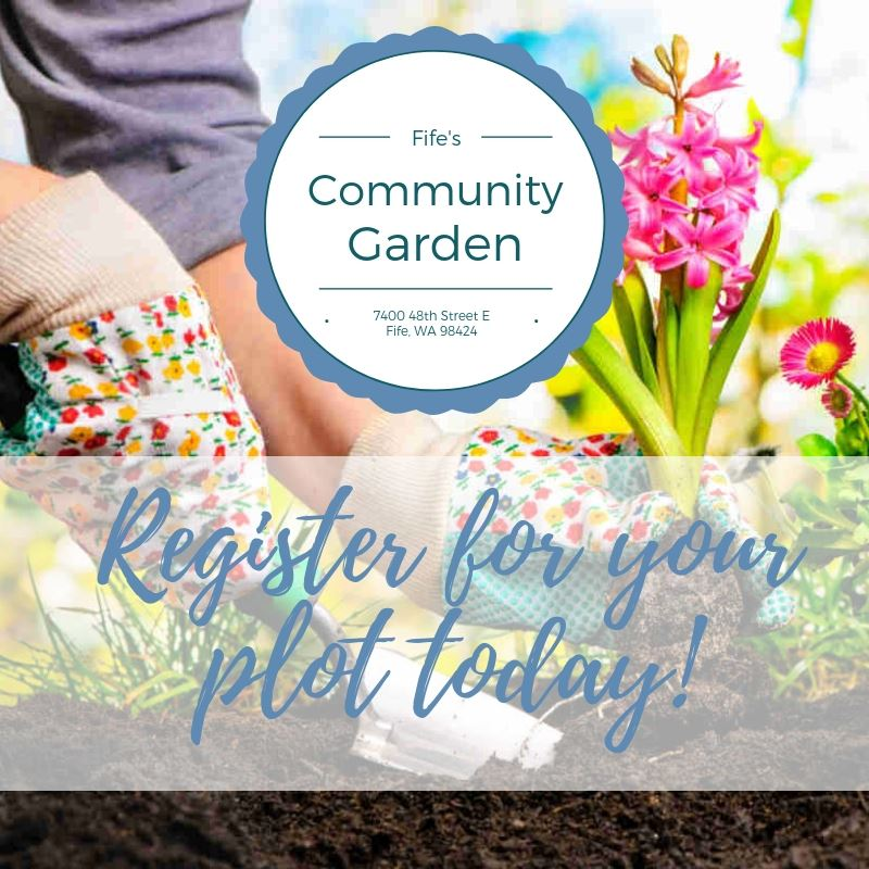 Community Garden Register Now