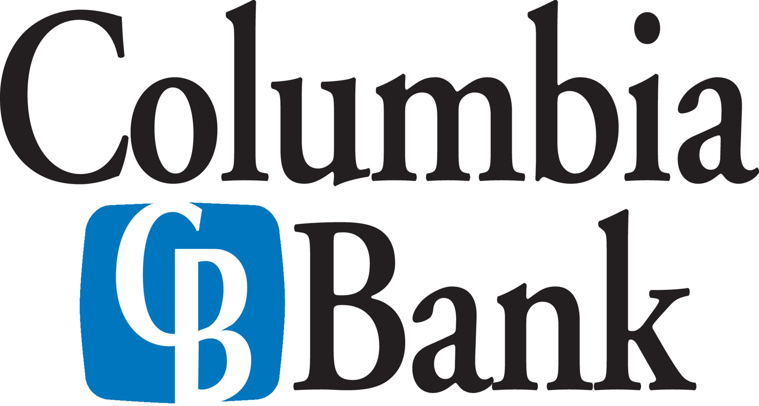 Columbia Bank Black logo