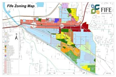 Fife Zoning Map