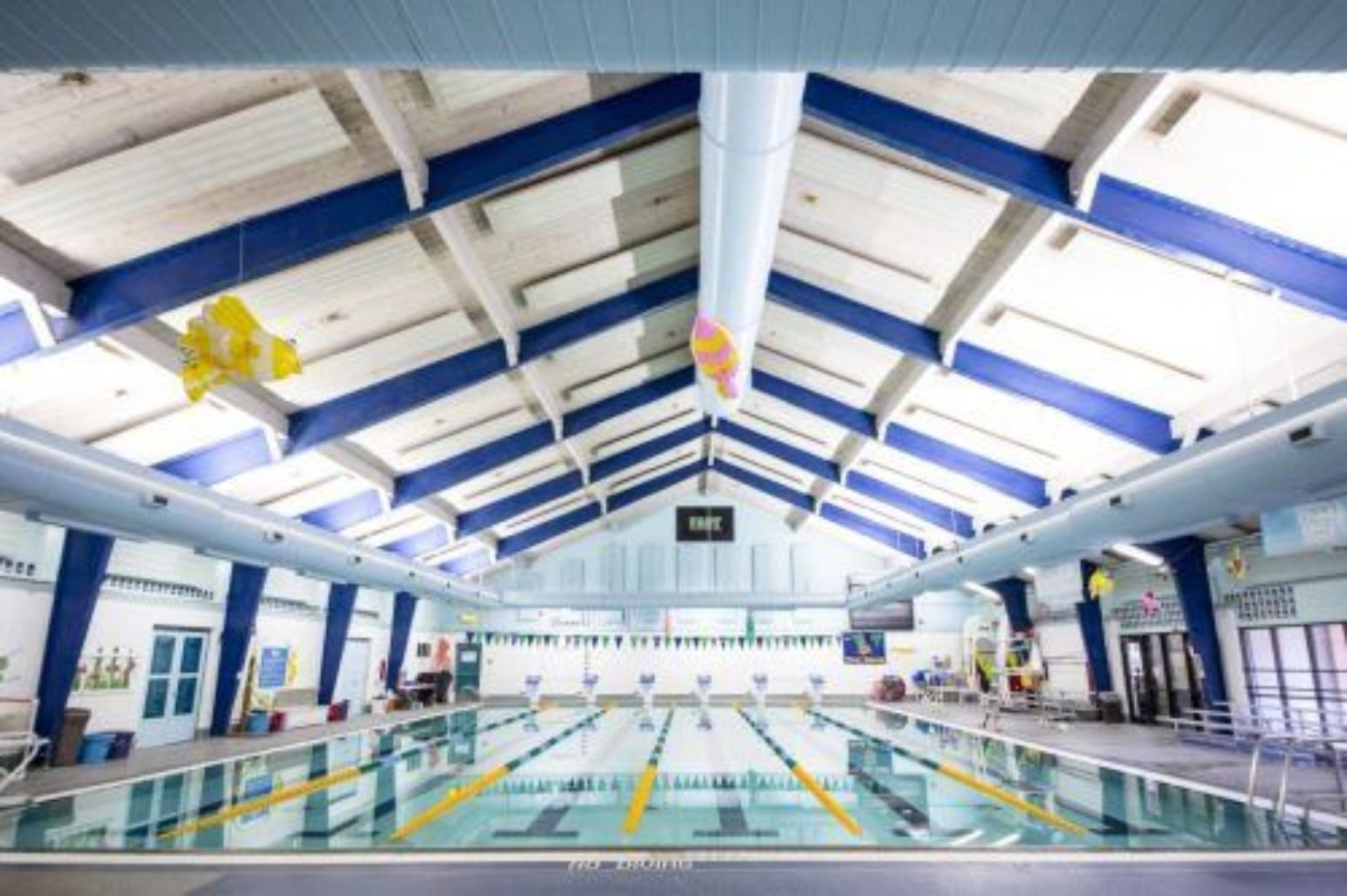 Interior of Fife Aquatic Center