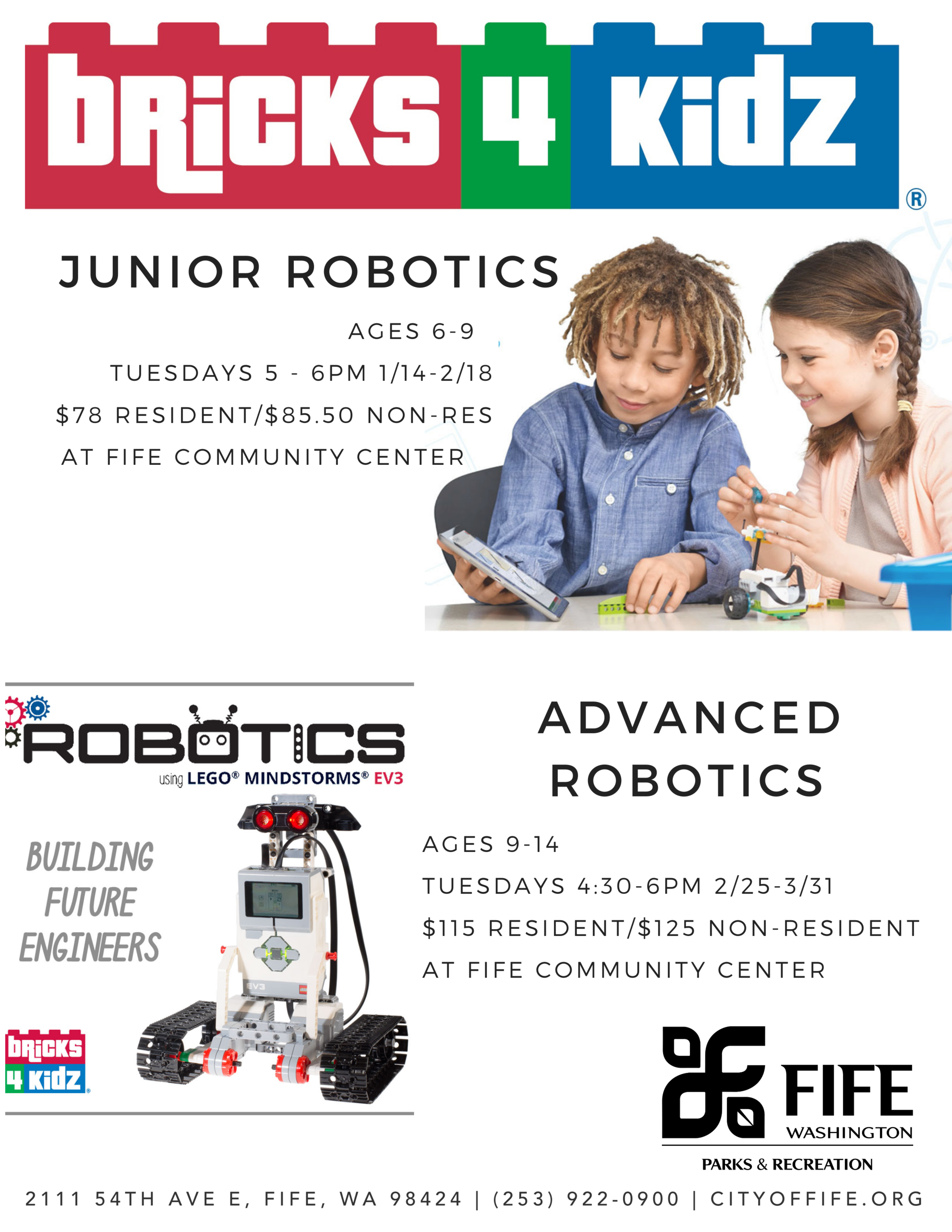 2020 Bricks 4 Kidz- Winter sessions